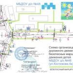 Схема организации дорожного движения и безопасные маршруты движения детей